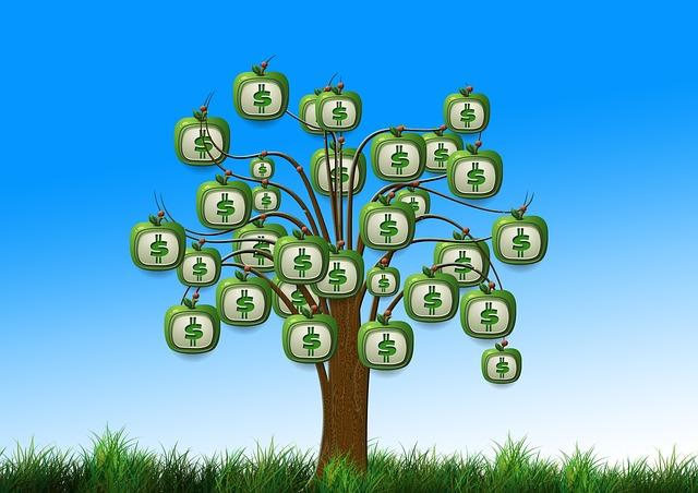 El dinero crece en los árboles